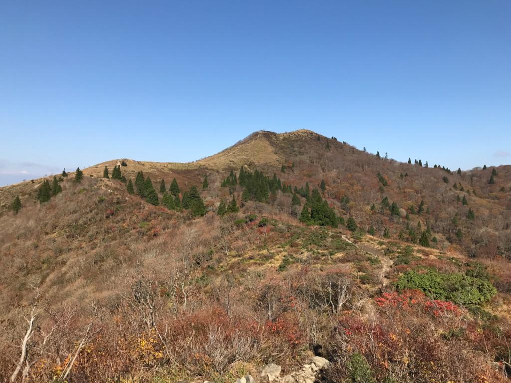 秋の武奈ヶ岳